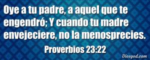 proverbios 23 22