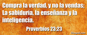 proverbios 23 23