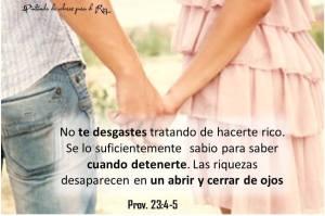 proverbios 23 4