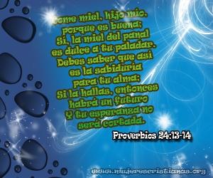 proverbios 24 13