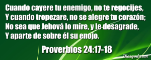 proverbios 24 17