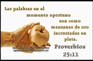 proverbios 25 11