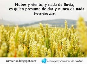 proverbios 25 14