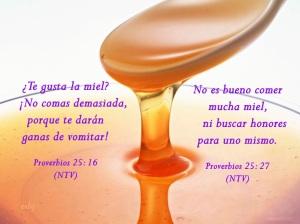 proverbios 25 16
