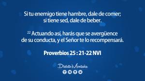 proverbios 25 21-22