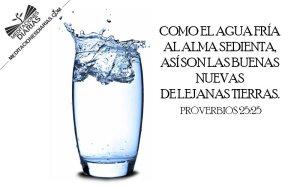 proverbios 25 25