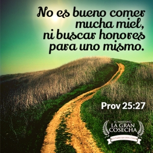 proverbios 25 27