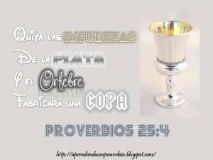 proverbios 25 4