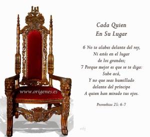 proverbios 25 6-7