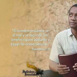proverbios 27 12