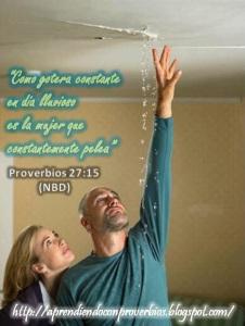 proverbios 27 15