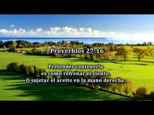 proverbios 27 16