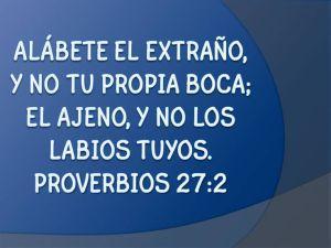 proverbios 27 2