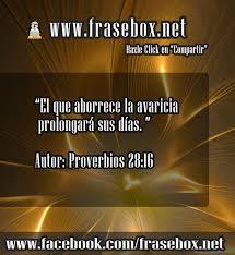 proverbios 28 16