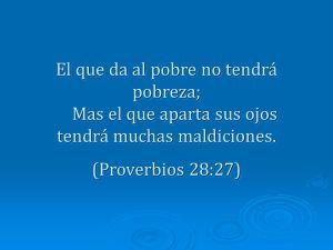 proverbios 28 27