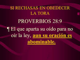 proverbios 28 9a