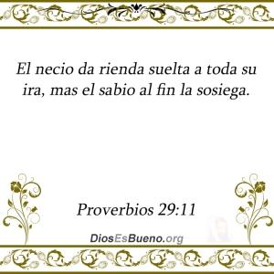proverbios 29 11