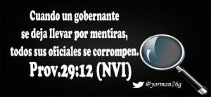 proverbios 29 12