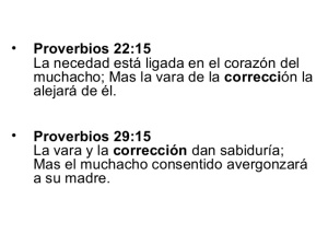 proverbios 29 15