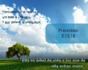 proverbios 3 18