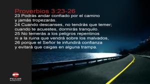 proverbios 3 23