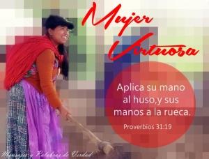 proverbios 31 19