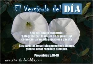 proverbios 5 18
