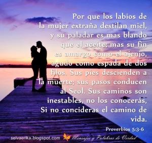 proverbios 5 3