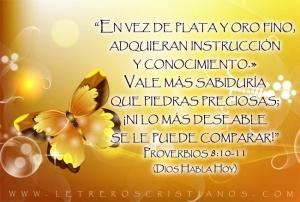 proverbios 8 10