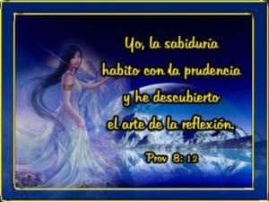 proverbios 8 12