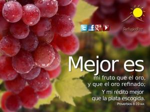 proverbios 8 19