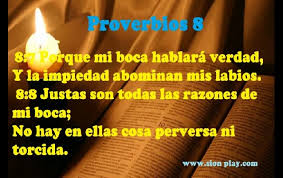 proverbios 8 7
