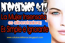 proverbios 9 13