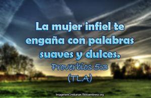 proverbios 5 3a