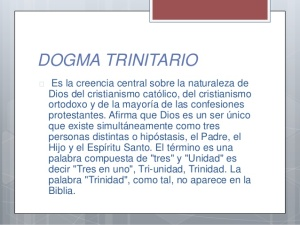 dogmaTrinitario